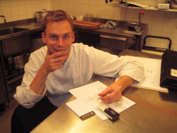 Stefan Eriksson Årets Kock planering